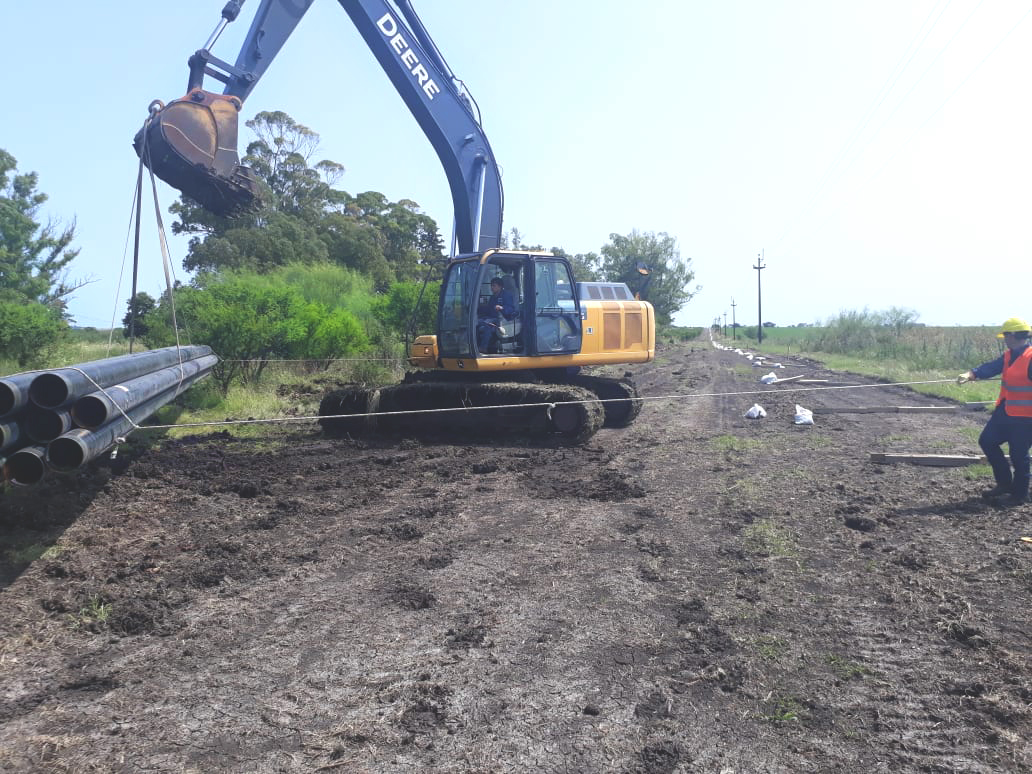 GASNEA inicia la última etapa de las obras del nuevo gasoducto a Villaguay