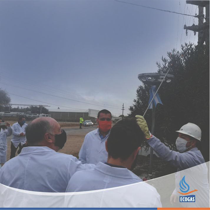 ECOGAS: Junto al Ministerio de Industria de la Provincia de Córdoba y a la empresa NOAL S.A. en la inauguración de la ampliación de su Planta Reguladora.