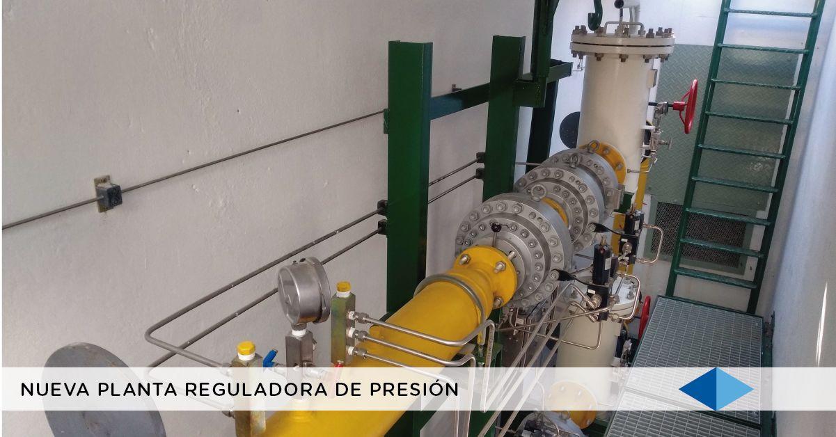 METROGAS: Nueva planta reguladora de presión