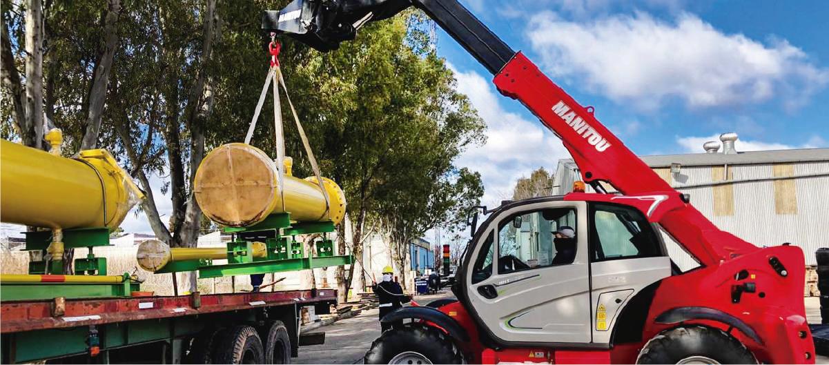 METROGAS: Continuan los trabajos en el Proyecto San Vicente