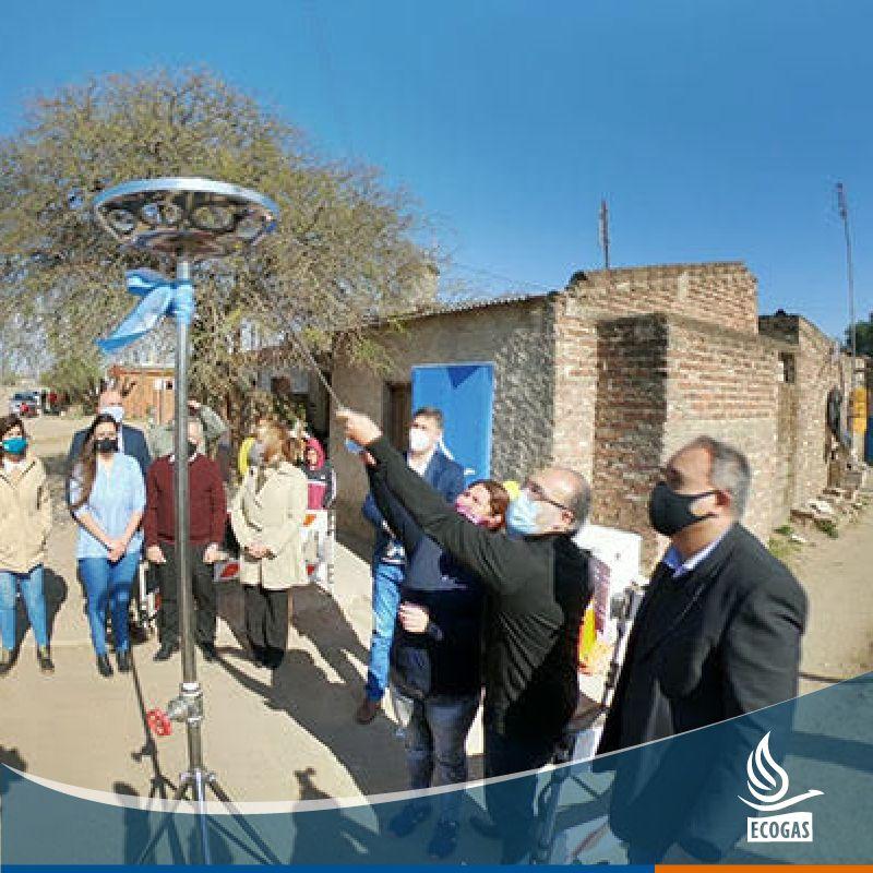ECOGAS: junto al Gobierno de Córdoba convirtieron a Villa María en la primera ciudad con el 100% de cobertura con la red del servicio.
