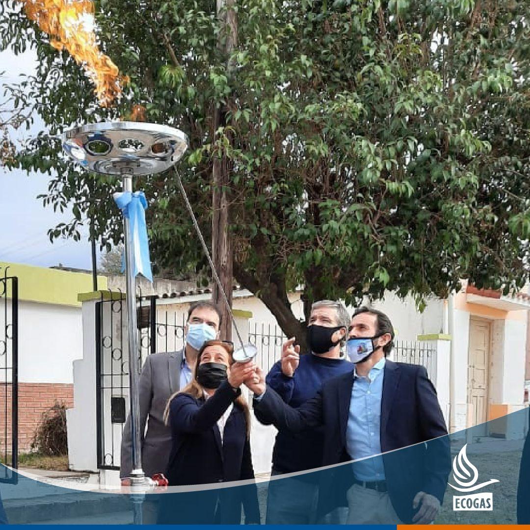 ECOGAS: habilitación del gas natural en la escuela Mariano Moreno de Villa San Isidro y San José de la Quintana, provincia de Córdoba