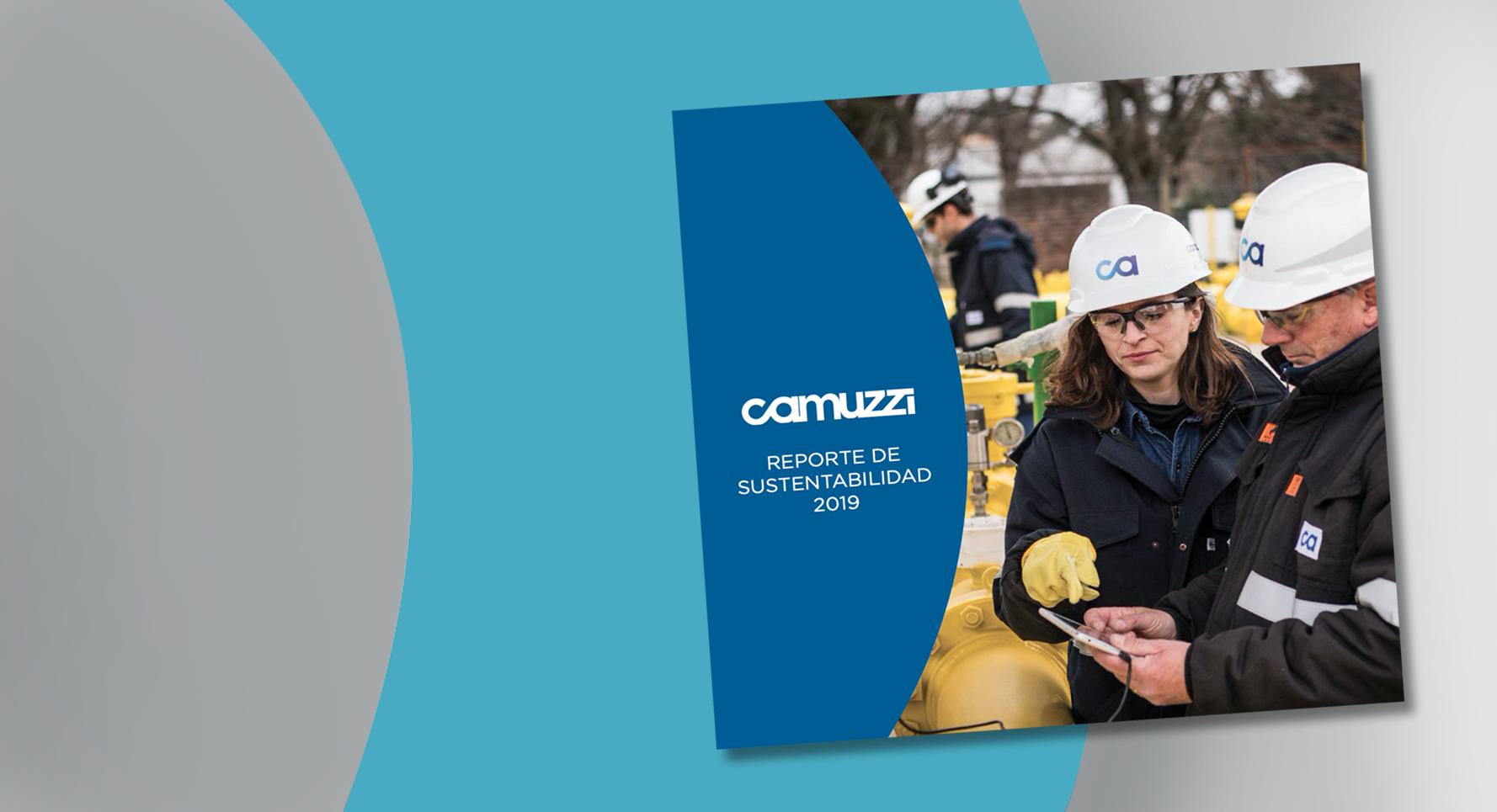 CAMUZZI: Presentó el Reporte  de Sustentabilidad 2019