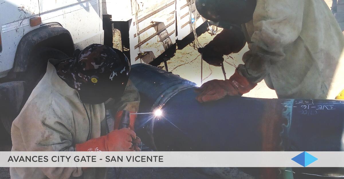 METROGAS: Continúan las tareas en la City Gate de San Vicente