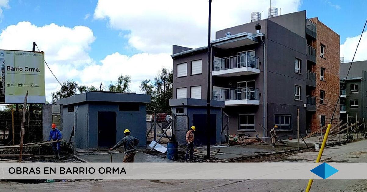 METROGAS: importantes avances de obra en  el nuevo Barrio Orma, en CABA