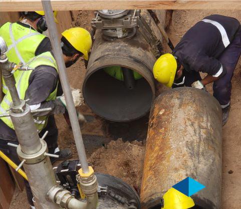 METROGAS: avanzan las obras de renovación de redes de baja a media presión en el barrio de Flores