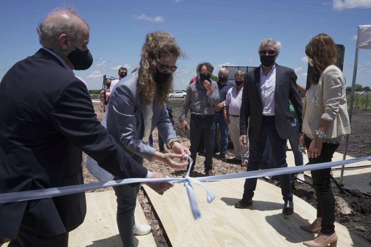 GASNEA inauguró un nuevo gasoducto en Entre Ríos. Una obra clave para expandir el gas por redes.