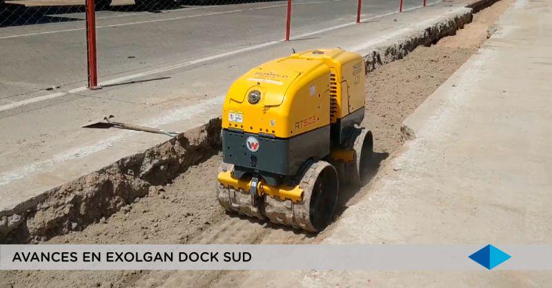 METROGAS, continúan las obras en Dock Sud