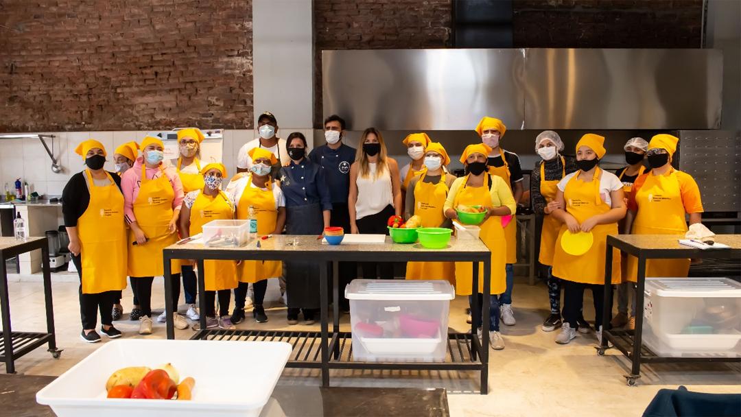 GASNOR: Inicio de las clases de cocina social en el marco  del proyecto Energía del Sabor en Tucumán