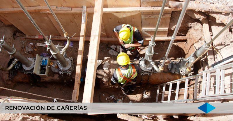 METROGAS: renovación de cañerias en el barrio de Barracas