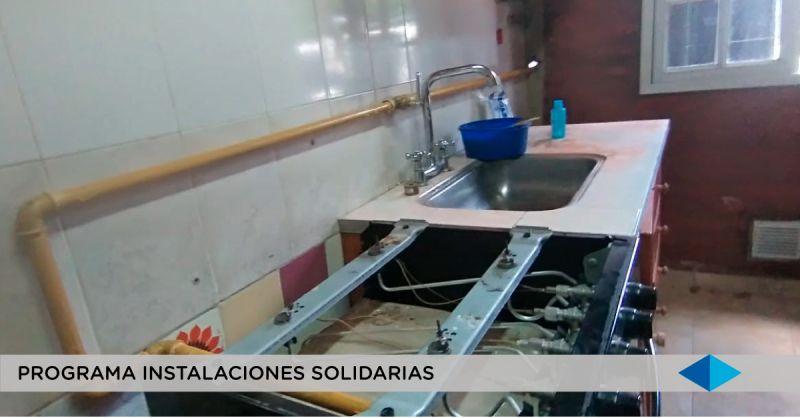 Metrogas: Programa Instalaciones Solidarias